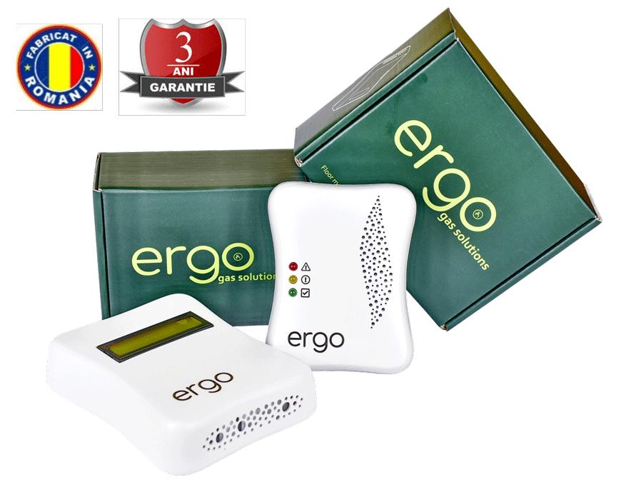 detector de gaz metan cu transmitere wireless Ergo